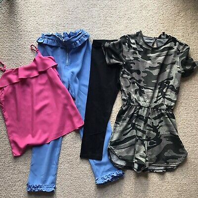Girls Mixed Bundle Age 10 M&S, River island, New Look & H&M
