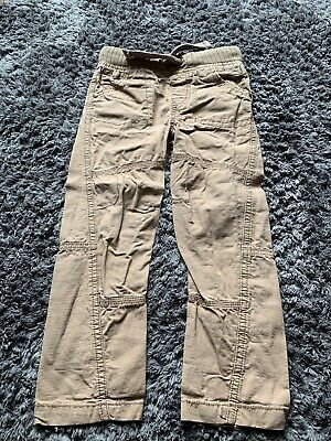 Boys Beige Trousers. 5-6 Years. Great Condition.