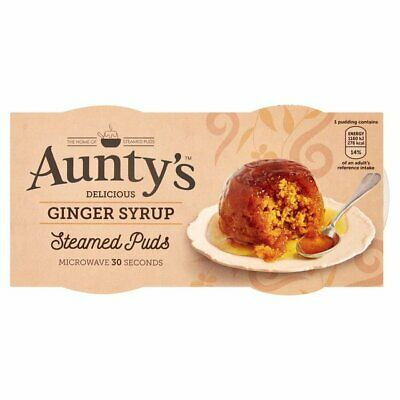 Aunty's Steamed Puddings Ginger Syrup 2 x 110g
