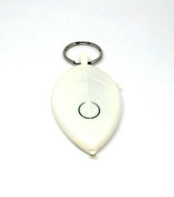 Key Finder - Whistle Lost Flashing Beeping Locator Remote Chain LED Plastic NEW