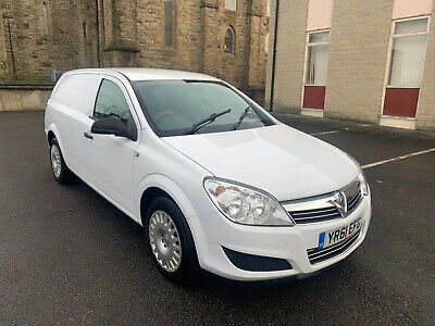 1.7 Vauxhall Astra Van 1 Owner From New No Vat To Pay 12 Mth Mot 100 Bhp May Px