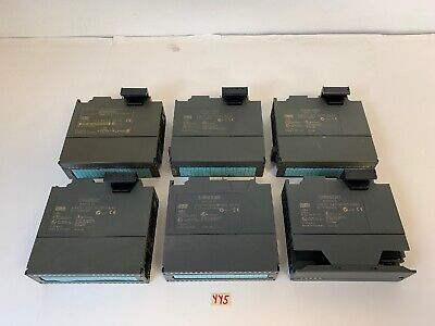 Siemens 6ES7 Simatic S7 Digital Input Modules (Lot Of 6) *Warranty*
