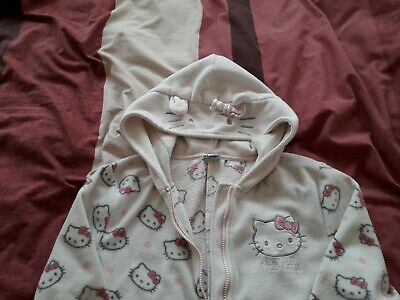 Next girls Hello Kitty all in one, age 10 years