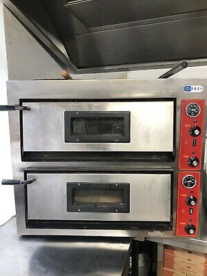 Pizza Oven Double Comercial