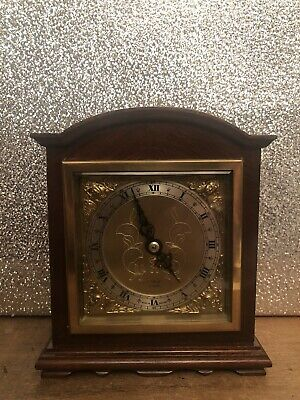 Elliott London Mahogany Arched Top Mantel Clock