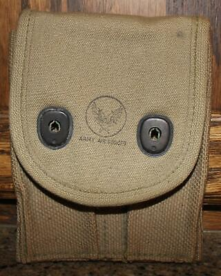 Wwi Usaaf 1918 Magazine Ammo Pouch Dated 1918 By L.c.c. & Co. Original