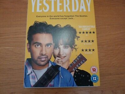 YESTERDAY : DVD watched once enjoyed - excellent condt.