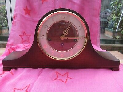 Franz Hemle Clock Westminster chimes, Not working With Key, SOLD AS SEEN 340020A