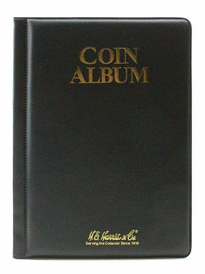 Whitman Coin Album, Compact Storage for 2x2 mylar flips,60 Pocket