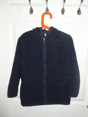Boy's Dark Blue Hooded from TU. Size 7 years