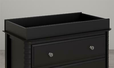 Rowan Valley Changing Table Topper, Black