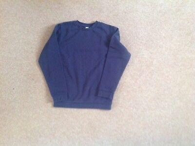 Boy's Dark Blue School Jumper from Tu. Size 10 years