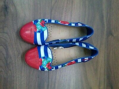 Used Geox Girl Shoes Size EU 31 UK 12.5 Multicolored