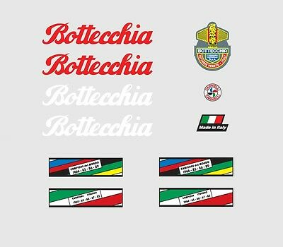 Decals Transfers 01025 Bottecchia Bicycle Stickers
