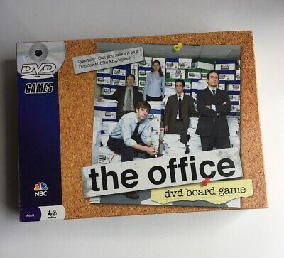 Pressman 2008~NBC THE OFFICE DVD BOARD GAME #2111~Factory Sealed~NEW~NOS~Adults