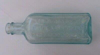 Vintage Antique Dr D Jaynes Tonic Vermifuge Bottle