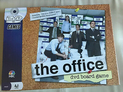 The Office DVD Trivia Board Game Pressman 2008 Brand New Sealed NBC