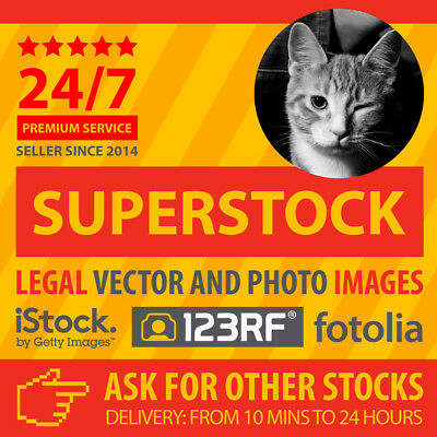 1 iStock, 123RF, fotolia vector / image  also compatible with Shutterstock