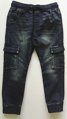 NEXT boys age 6 years dark denim trousers/jeans hardly worn !!