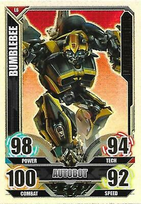 TRANSFORMERS Movie Limited Edition Card LE6 BUMBLEBEE - TOPPS 2005