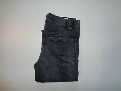 "Hugo Boss super slim fit jeans Waist 28"" x Leg 31"" mens black stretch boys 16 M"