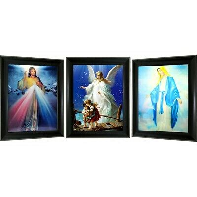 Indian Chief 3D Lenticular Picture Frame 3 Images in 1 frame 14x18 frame size