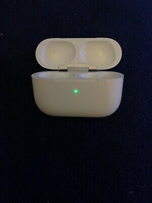 Apple AirPods Pro Wireless Charging Case Only Replacement A2190 Used *Case Only*
