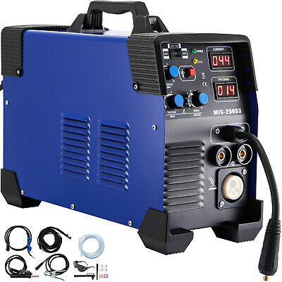 200A MIG / MAG / WIG (TIG) / MMA Inverter Welder 3 in 1 MIG Gas Welding Machine