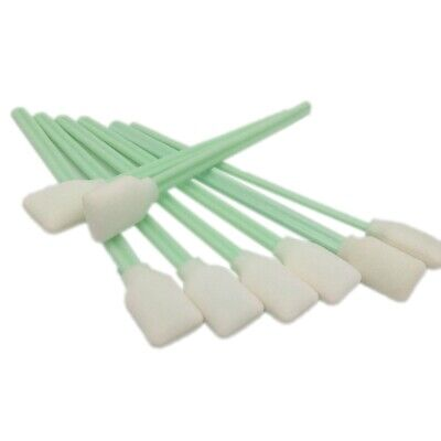 100Pcs Cleaning Swabs Sponge Stick for Roland/Mimaki/Mutoh Eco Solvent Prin Q5T9