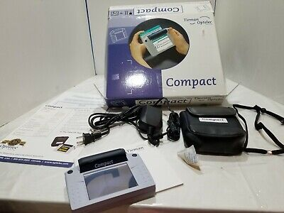 Tieman Group Optelec Compact vision magnifier w/ power supply case shoulder