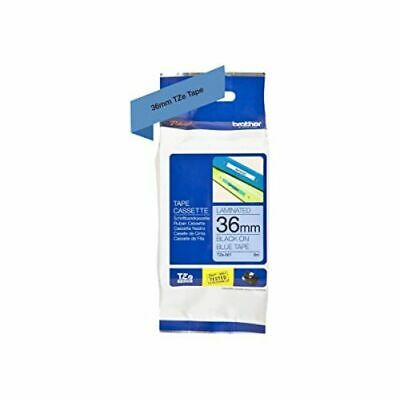 Brother P-touch TZe-561 (36mm x 8m) Black On Blue Gloss Laminated Labelling Tape