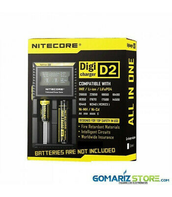 Cargador Digicharger D2 - Nitecore
