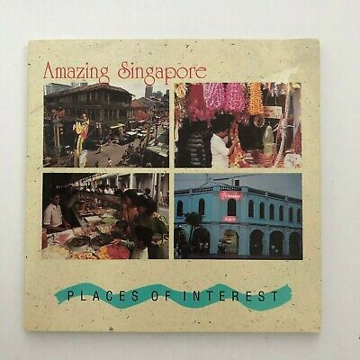 Amazing Singapore places of interest Mint set 1990  (3341056H)