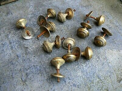 Antique Solid Brass Handles Knobs for Wardrobe Drawer Cabinet Cupboard 11x