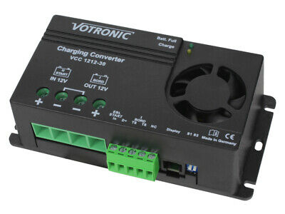 Votronic VCC121230 12v 30amp battery to battery (DC-DC) charger
