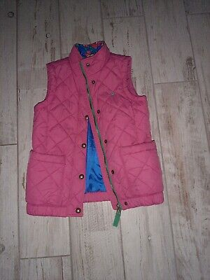 Joules Girls Body Warmer , Gillet. Age 8 . Good Condition!