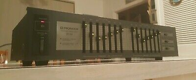 Vintage Pioneer Stereo Graphic Equalizer/Made In Japan