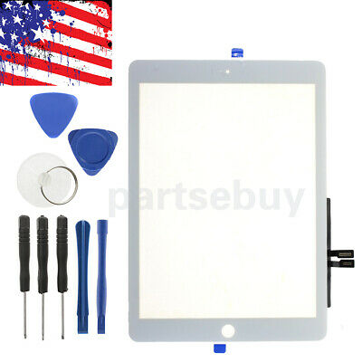 For iPad 6 6th Gen A1893 A1954 Touch Screen Digitizer Replacement+IC