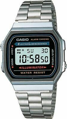 B-WARE Armbanduhr Casio Collection Unisex A168WA 1YES Digital silber ohne OVP