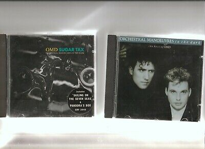 OMD : The Very Best of OMD + Sugar Tax / TWO CD Albums