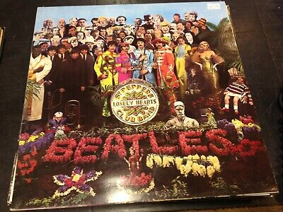 The Beatles - Sgt Pepper's Lonely Hearts Club Band 1991 Pressing Lp
