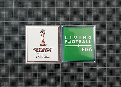 FIFA Club World Cup Qatar 2019 & Living Football Sleeve Patches/Badges Liverpool