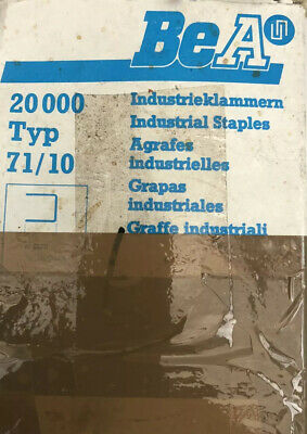 Bea Type 71/10 Industrial Staples( Some Have Been Used Out The Box )