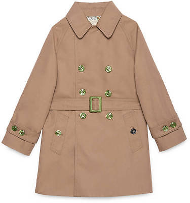 Gucci Baby Blind For Love Trench Coat 24 Months