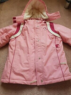 Girls Pink Ski Jacket from Next - Age 7/8 Years