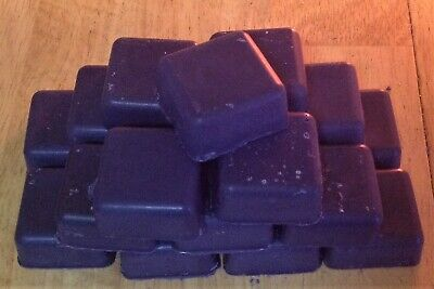 Candle Making  Tart Melts USED Vegan ECO Soy Wax PURPLE 388g DIY  RECYCLED