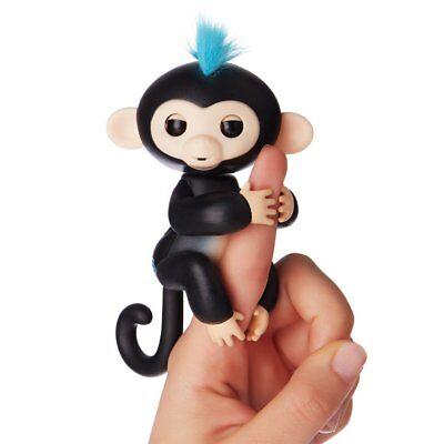6 Functions Baby Monkey Finger Kids Toy Electronic Interactive Pet Lings Black