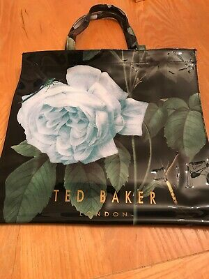 Ted Baker Large Tote Bag Roses /Dragonflies.