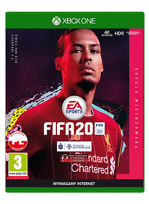 FIFA 20 - Champions Edition (Xbox One, 2019) BRAND NEW SEALED