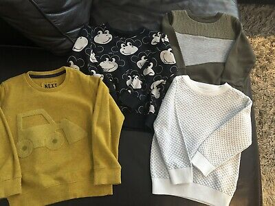 Next Boys Age 3-4 Jumper Bundle